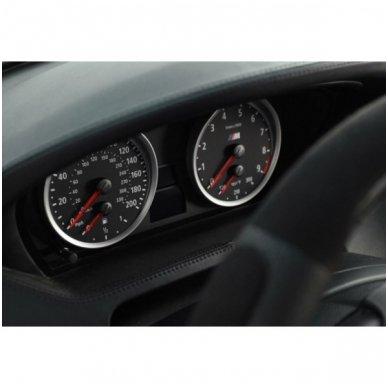 BMW MATINIAI 5 e60, e61 M stiliaus spidometro žiedai 5