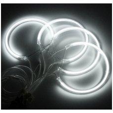 CCFL Angel Eyes balti šviesos žiedai E36 / E38 / E39 / E46 su lešiu iki facelift / E46 cuope 99-03 m.