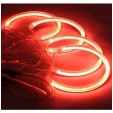 CCFL Demon Eyes raudoni šviesos žiedai E46 be lešio / E46 4/5 durys facelift su lešiu