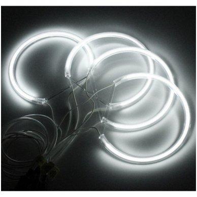 CCFL Angel Eyes balti šviesos žiedai E36 / E38 / E39 / E46 su lešiu iki facelift / E46 cuope 99-03 m. 10