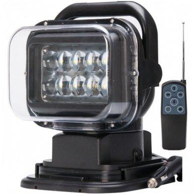 CREE LED 4D paieškos žibintas su nuotoliniu valdymu 50W, 10-60V, IP67, 4000LM