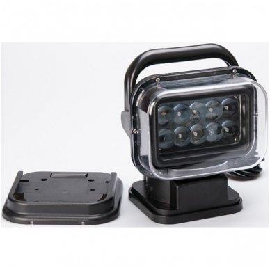 CREE LED 4D paieškos žibintas su nuotoliniu valdymu 50W, 10-60V, IP67, 4000LM 3