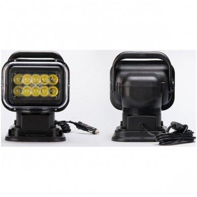 CREE LED 4D paieškos žibintas su nuotoliniu valdymu 50W, 10-60V, IP67, 4000LM 4