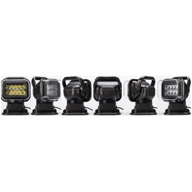 CREE LED 4D paieškos žibintas su nuotoliniu valdymu 50W, 10-60V, IP67, 4000LM 6