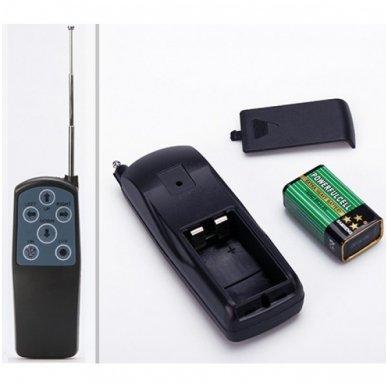 CREE LED 4D paieškos žibintas su nuotoliniu valdymu 50W, 10-60V, IP67, 4000LM 9