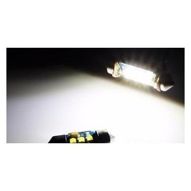 CREE LED C5W/F10 3LED CAN BUS lemputė 36mm 3