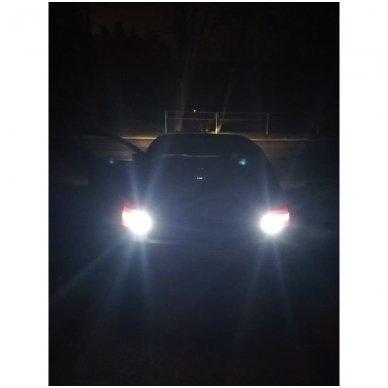 CREE LED P21W / BA15S 12v-24v, 9W - 700 LM galios - aukštos galios LED lemputė 2