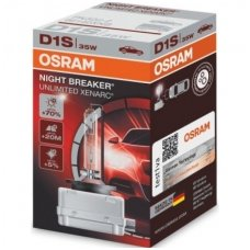 D1S OSRAM XENARC NIGHT BREAKER UNLIMITED 35w 66140XNB PK32d-2 4052899047068 xenon lemputė