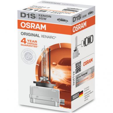 D1S OSRAM XENARC ORIGINAL 4 metai garantija 66140 PK32d-2 35w 85V 4008321184276 xenon lemputė