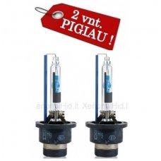 D2R 2vnt. 6000K PREMIUM 35w xenon lemputės į originalias xenon sistemas