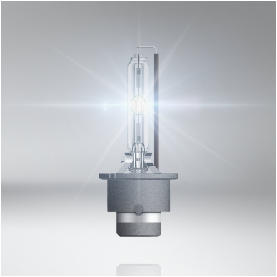 D2S OSRAM XENARC ORIGINAL 4 metai garantija 35w 66240 P32d-2 4008321184573 xenon lemputė 4