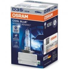 D3S OSRAM XENARC COOL BLUE INTENSE +20%, 6000K 66340CBI, 35W 4052899148710 xenon lemputė