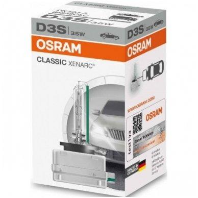 D3S OSRAM CLASSIC XENARC 66340CLC PK32d-5 35w xenon lemputė