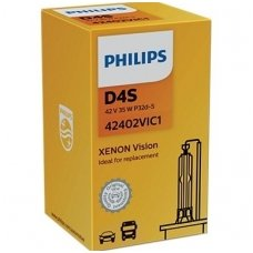 D4S NEW PHILIPS VISION originali 42402VIC1, 4400K xenon lemputė