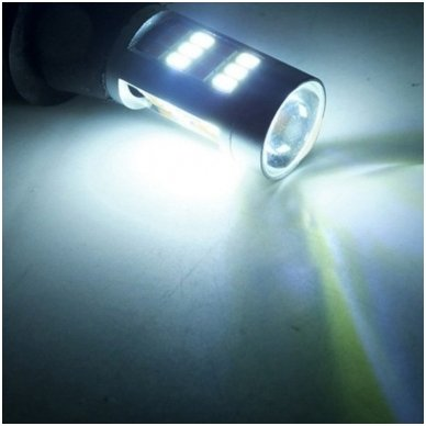 DRL LED CAN-BUS posūkio lemputė dienos žibintas 12v PY21W / BAU15S 5