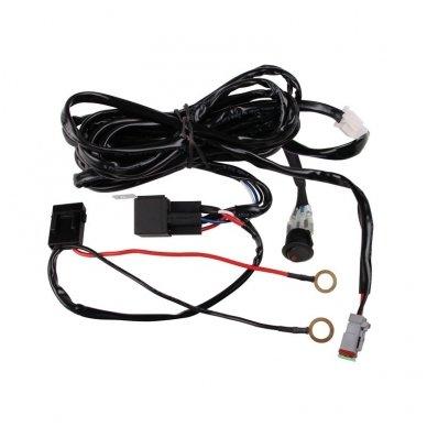 E36 modelio LED BAR žibintų įjungimo relė 12v iki 180W 8