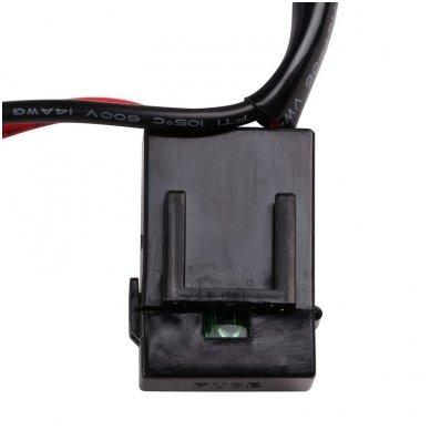 E36 modelio LED BAR žibintų įjungimo relė 12v iki 180W 6