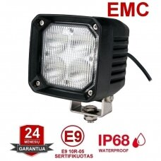 EMC CREE LED darbo žibintas 40W, 10-30V, 4 LED