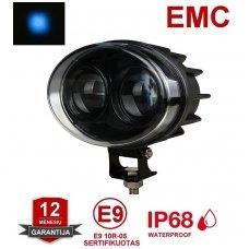 EMC LED mėlynas autokrautuvo saugos - žemės ūkio purkštuvo žibintas 10-20V E13, 10R-04