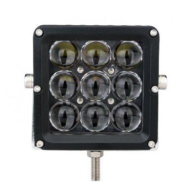 EMC 4D CREE LED darbo žibintas 27W, 10-30V, 9 LED 3