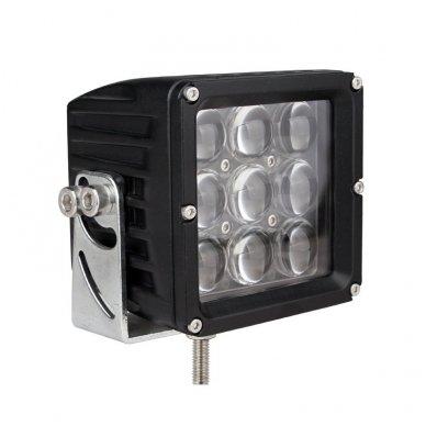 EMC 4D CREE LED darbo žibintas 27W, 10-30V, 9 LED 2