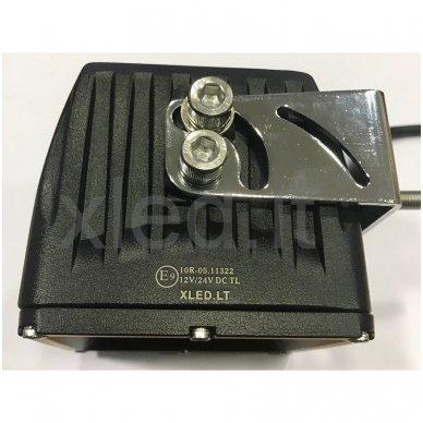 EMC 4D CREE LED darbo žibintas 27W, 10-30V, 9 LED 4