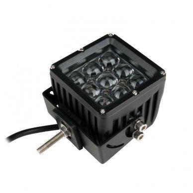 EMC 4D CREE LED darbo žibintas 27W, 10-30V, 9 LED 10