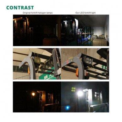 EMC CREE LED darbo žibintas 40W, 10-30V, 4 LED 4