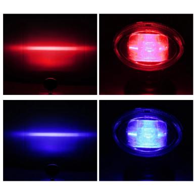 EMC LED raudonas autokrautuvo saugos žibintas 10-80V CE, 10R-05 7