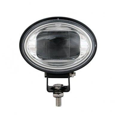 EMC LED raudonas autokrautuvo saugos žibintas 10-80V CE, 10R-05 4