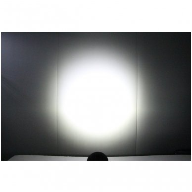 EMC LED plataus švietimo apvalus darbo žibintas 27W, 10-30V, 9 LED 11