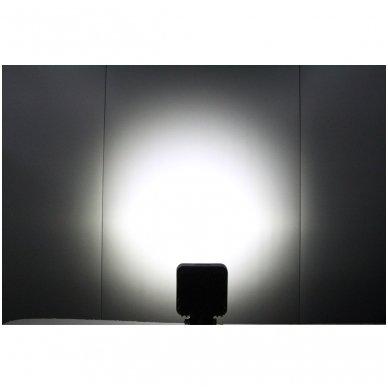 EMC LED plataus švietimo darbo žibintas 27W, 10-30V, 9 LED 9