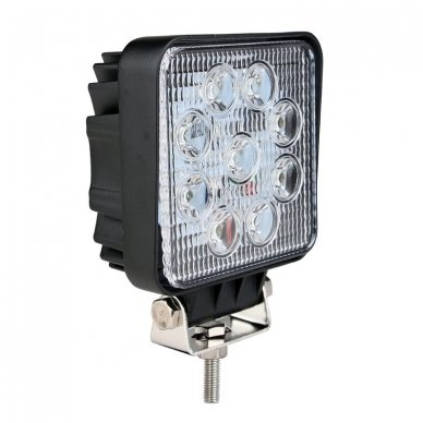 EMC LED plataus švietimo darbo žibintas 27W, 10-30V, 9 LED 3