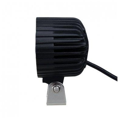 EMC LED plataus švietimo darbo žibintas 36W, 10-30V, 12 LED 12