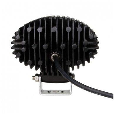 EMC LED plataus švietimo darbo žibintas 36W, 10-30V, 12 LED 11