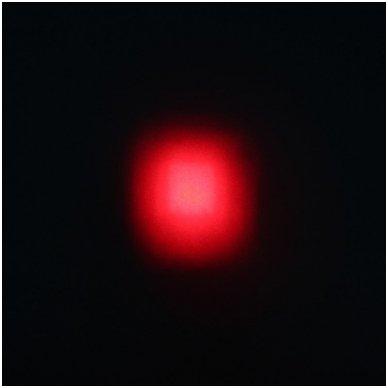 EMC LED raudonas autokrautuvo saugos - žemės ūkio purkštuvo žibintas 10-30V E13, 10R-04 4
