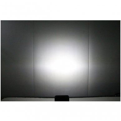 EMC LED SUPER plataus švietimo darbo žibintas 15W, 10-30V, 5 LED 4