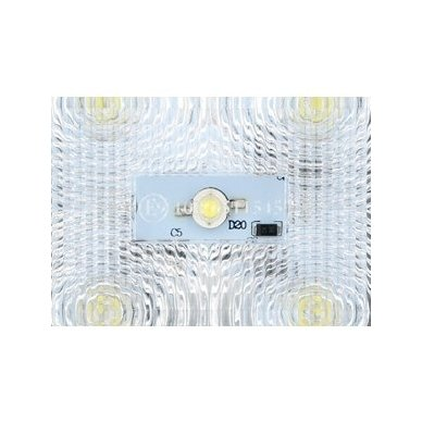 EMC LED SUPER plataus švietimo darbo žibintas 15W, 10-30V, 5 LED 3