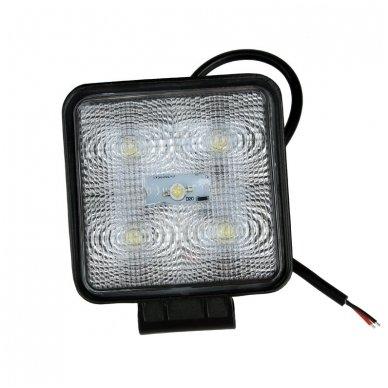 EMC LED SUPER plataus švietimo darbo žibintas 15W, 10-30V, 5 LED 10