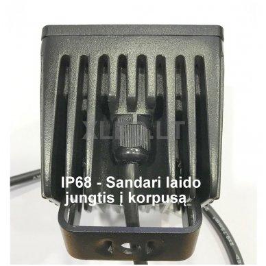EMC MINI LED darbo žibintas 20W, 10-30V, 4 LED 4