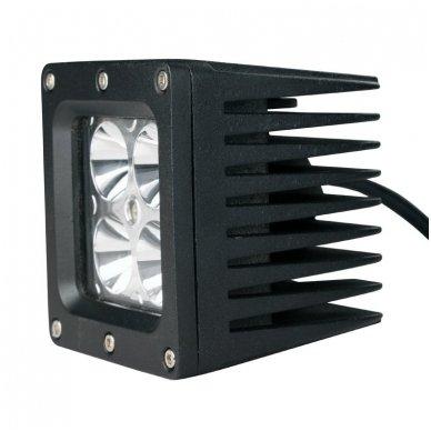 EMC MINI LED darbo žibintas 20W, 10-30V, 4 LED 7