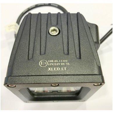 EMC MINI LED darbo žibintas 20W, 10-30V, 4 LED 3