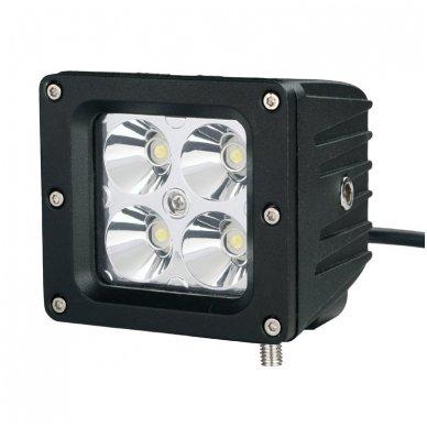 EMC MINI LED darbo žibintas 20W, 10-30V, 4 LED 2
