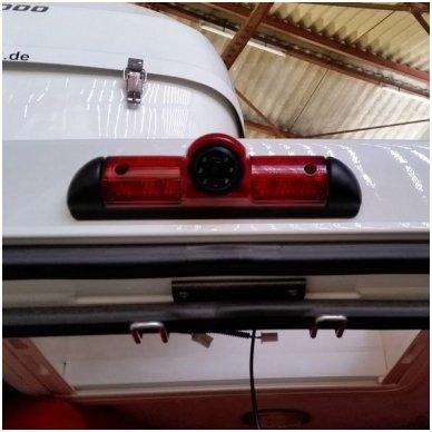 FIAT Ducato Boxer Jumper galinio vaizdo kamera integruota stabdžio žibinte 4