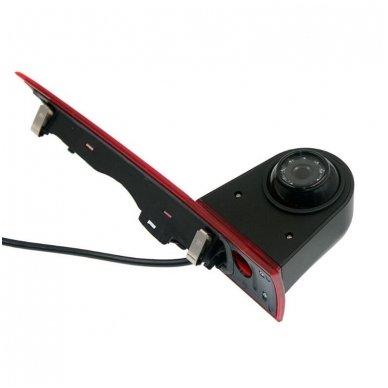Ford Transit galinio vaizdo kamera integruota stabdžio žibinte 3