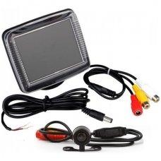 Galinio vaizdo kameros ir monitoriaus LCD komplektas