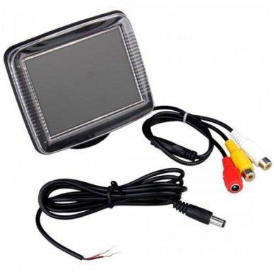 Galinio vaizdo kameros ir monitoriaus LCD komplektas 2