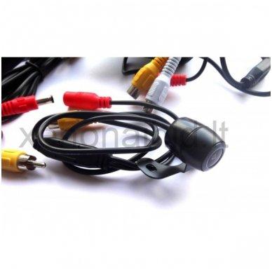 Galinio vaizdo kameros ir monitoriaus LCD komplektas 4