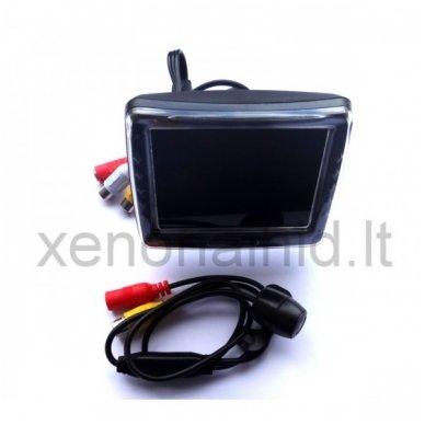 Galinio vaizdo kameros ir monitoriaus LCD komplektas 5