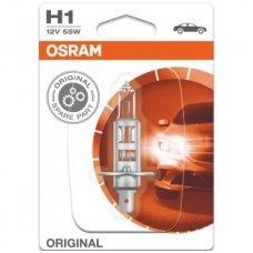 H1 1vnt. OSRAM ORIGINAL LINE 12V 55W, 64150, 4050300001487 halogeninė lemputė